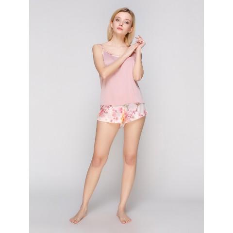 Пижама шелк